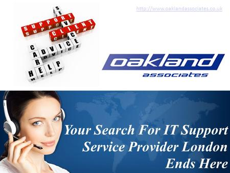 Your Search For IT Support Service Provider London Ends Here