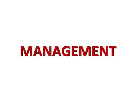 MANAGEMENT. 'Managing is like holding a dove in your hand. If you squeeze too tight, you kill it. Open your hand too much, you let it go'. - T. Lasorda.