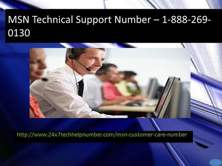 MSN Technical Support Number –