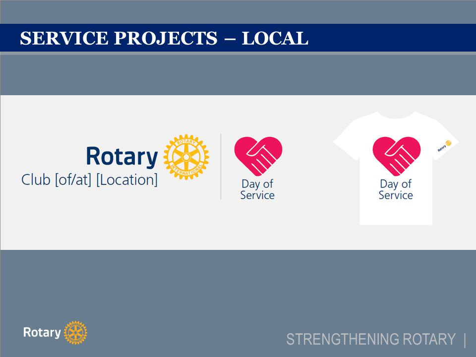 PARTNERSHIPS & INTERNAL CAMPAIGNS STRENGTHENING ROTARY |