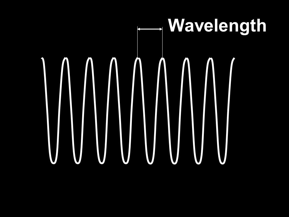 Oscilloscope An oscilloscope can show an electrical signal on its screen.