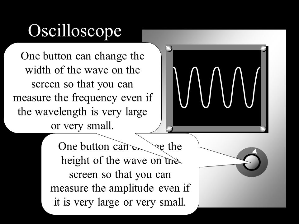 Looking at Sound Waves Oscilloscope Microphone Trace A low frequency sound at a medium volume
