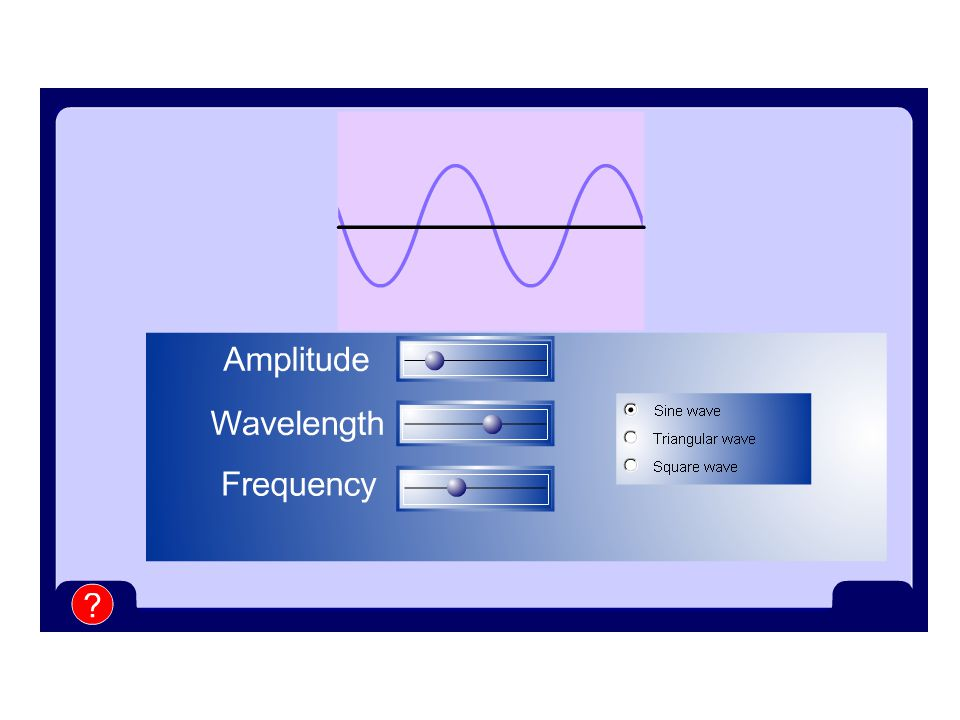 Amplitude and Frequency Amplitude & Frequency The human can hear sound between about 20Hz and 20,000Hz.