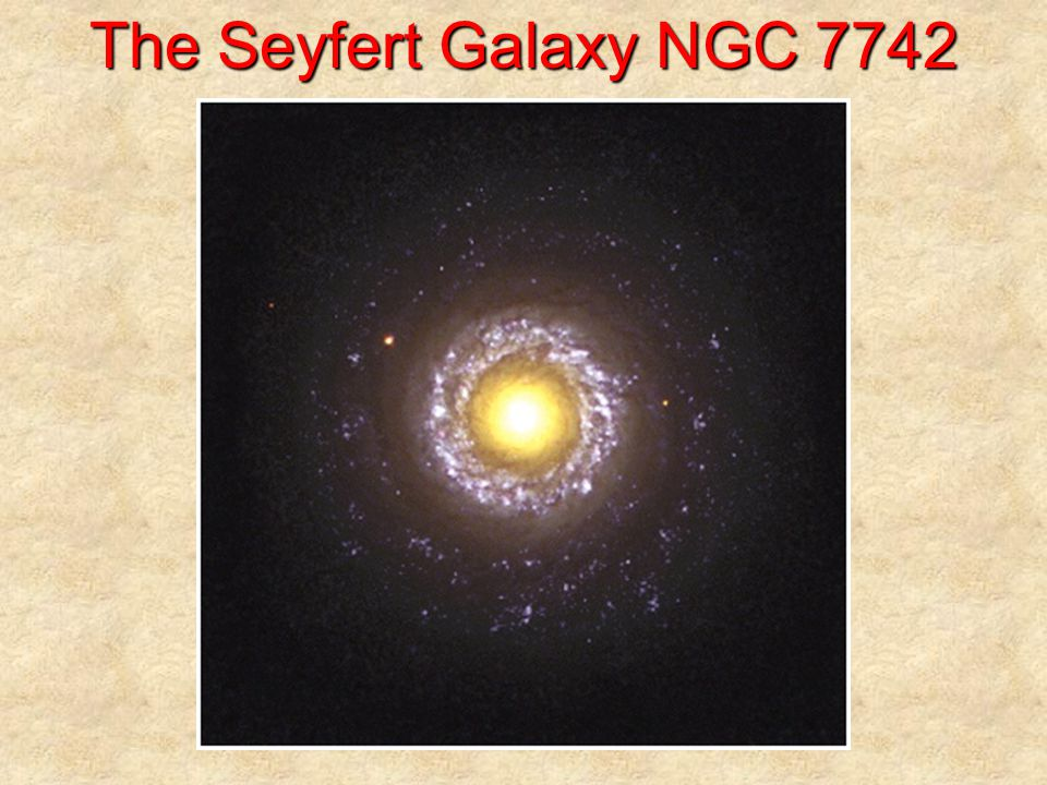 A Seyfert Galaxy at Different 's Visible light X-rays