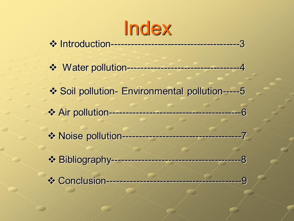 Introduction Under the subject of English I was proposed the production of a project work about the environment.