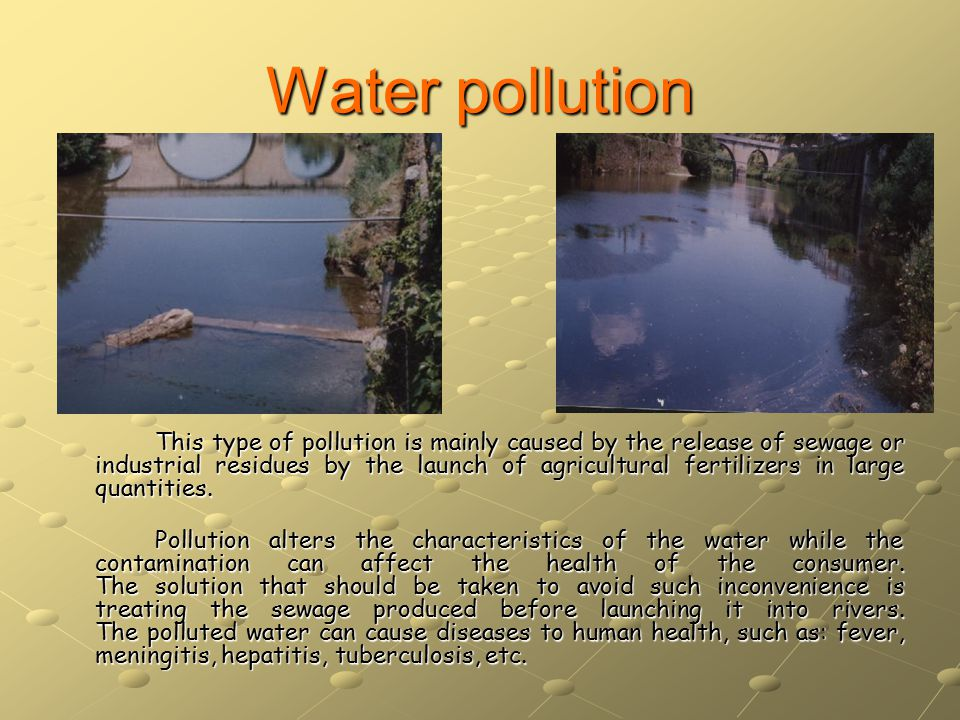Environmental pollution with consequences surrounding soil This type of pollution, as all the others, is caused by the Human Being.