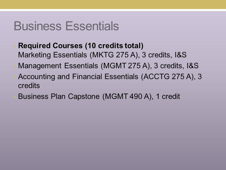 Nonprofit Essentials Required Courses (10 credits) Understanding the Fundamentals of Nonprofit Organizations, (PB AF 355 A), 4 cr Program and Implementation Tools for Nonprofit Organizations (PB AF 355B), 3 cr Budget, Fin.