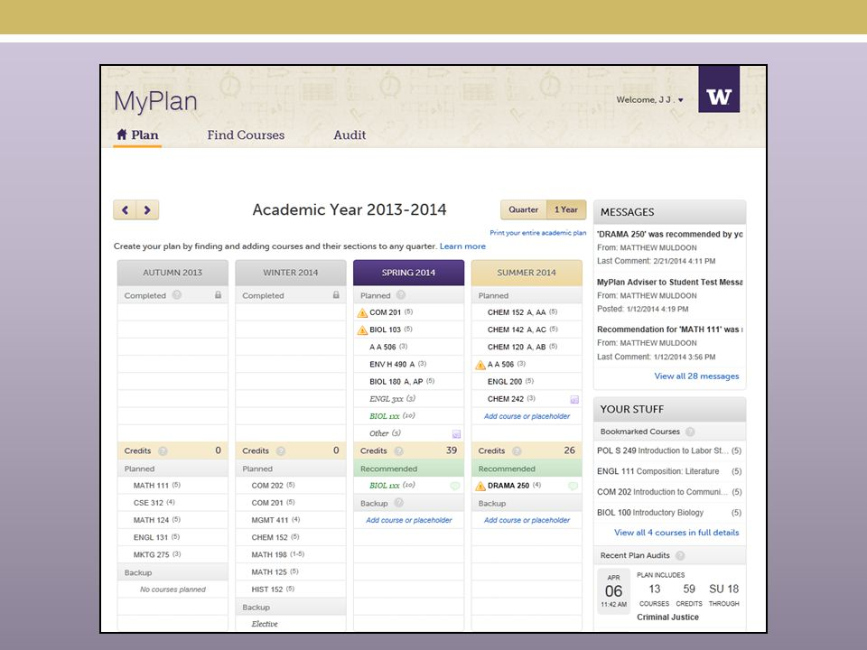 So far…… Canvas syllabus descriptions Single sign on for Advisers Schedule Builder