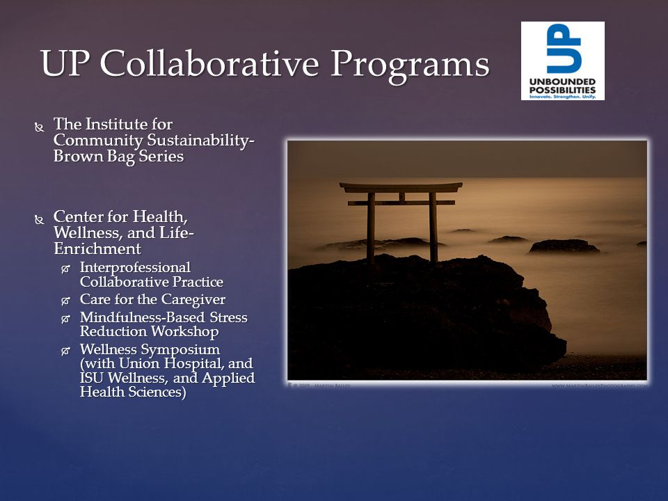 ISU/ Community Collaborative Programs  Campus Ministries- Brown Bag Series  College of Education- Ethics course Fall 2013 Dr.