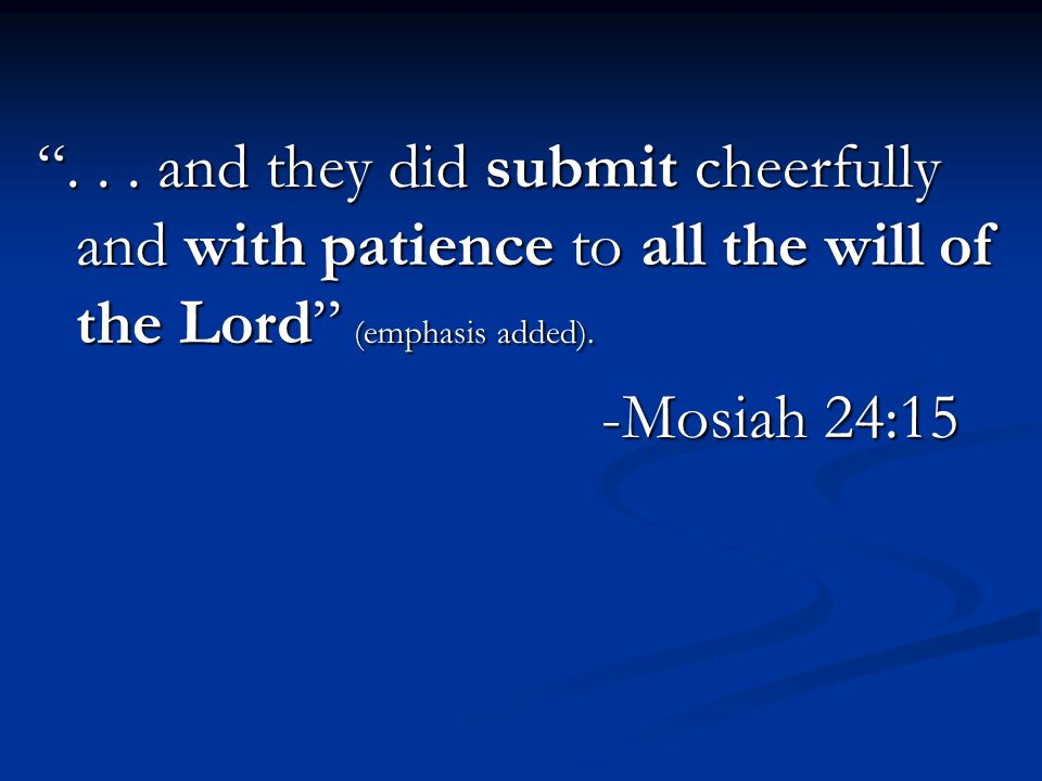 O Lord, give us strength according to our faith with is in Christ, even unto deliverance.