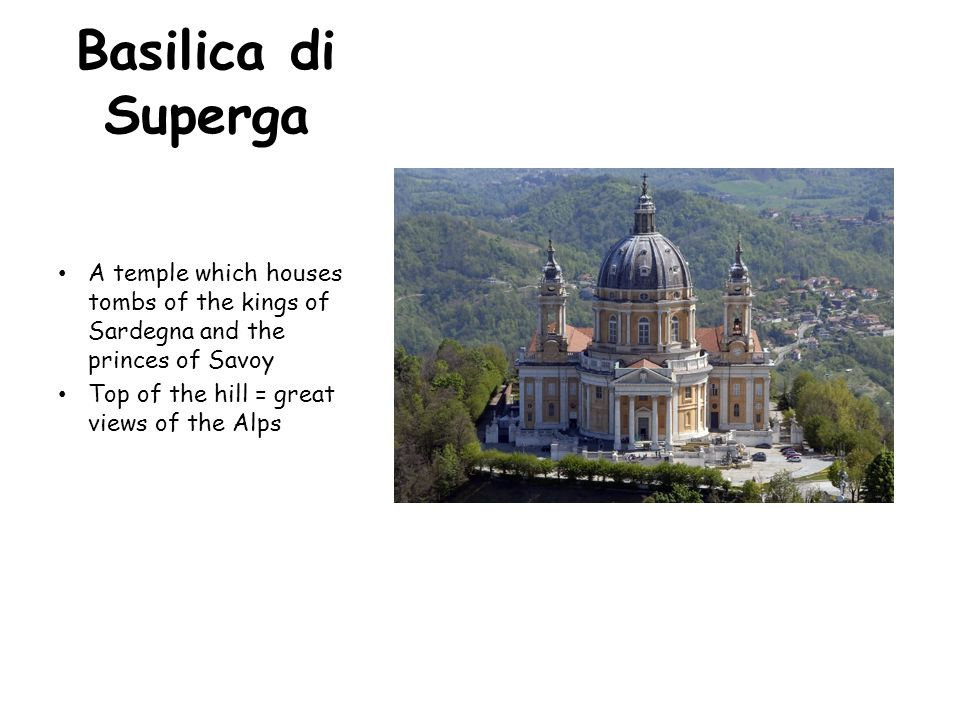 Monte dei Cappuccini Convent located at the top Best view of the city of Torino and the Alps