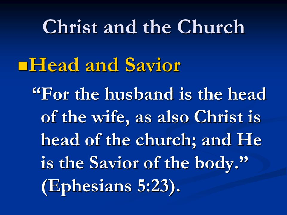 Denominational & Catholic View of Christ as Head Christ PopeChrist DenominationalCatholic Many Bodies One HeadOne Body – Two Heads