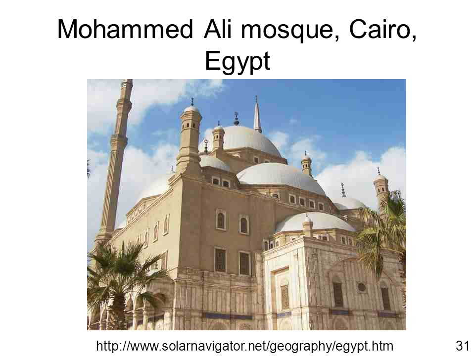 Inside the Mohammed Ali Mosque http://www.ask-aladdin.com32