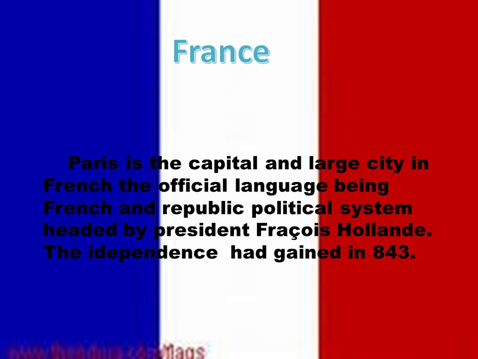 Of the major European states France is the oldest state built around a royal domain.