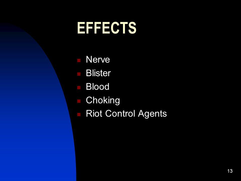 14 Nerve Agents