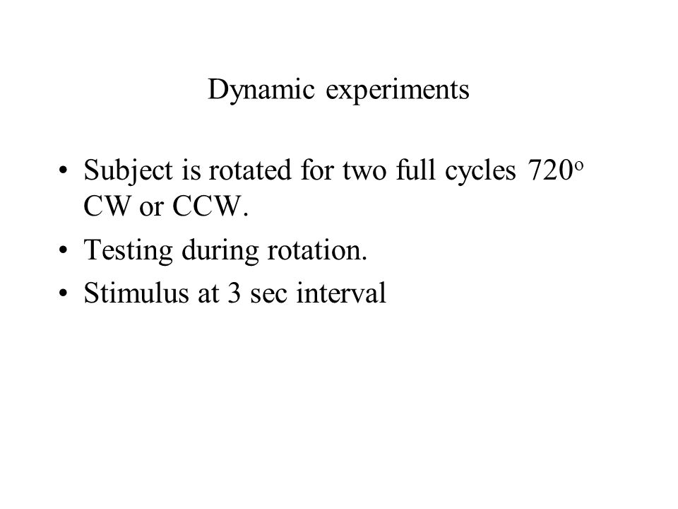 Dynamic test result