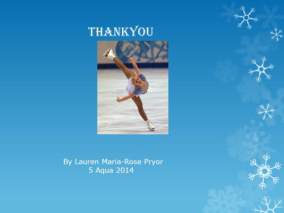 Fantastic work Lauren.Wonderful information and great presentation.