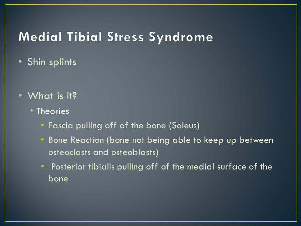 MOI: strain of tibialis posterior tendon and its fascial sheath at attachment to periosteum of distal tibia due to running/etc.