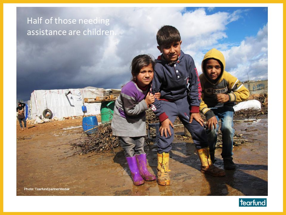 Tearfund launched an appeal for Syria in February 2013.