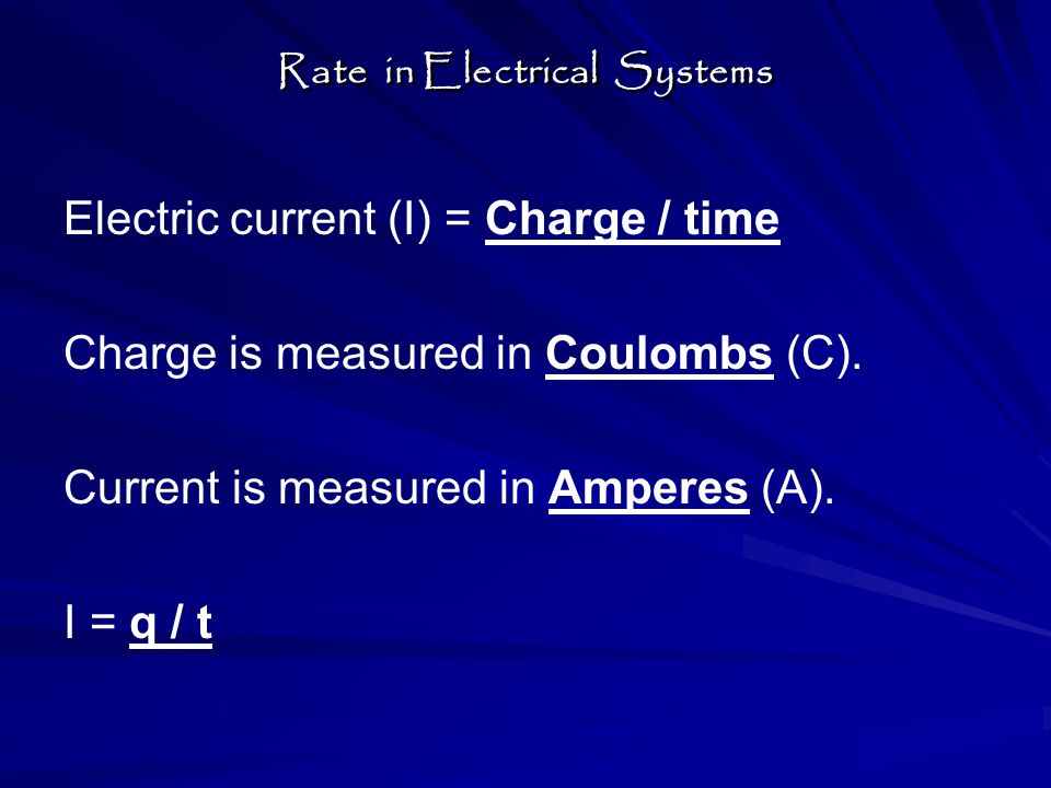 A current of 7 amperes occurs in 10 seconds, what is the charge moved.