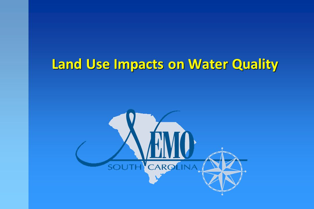 50%50% 10%10% 15%15% 55%55% Development Impacts On the Water Cycle