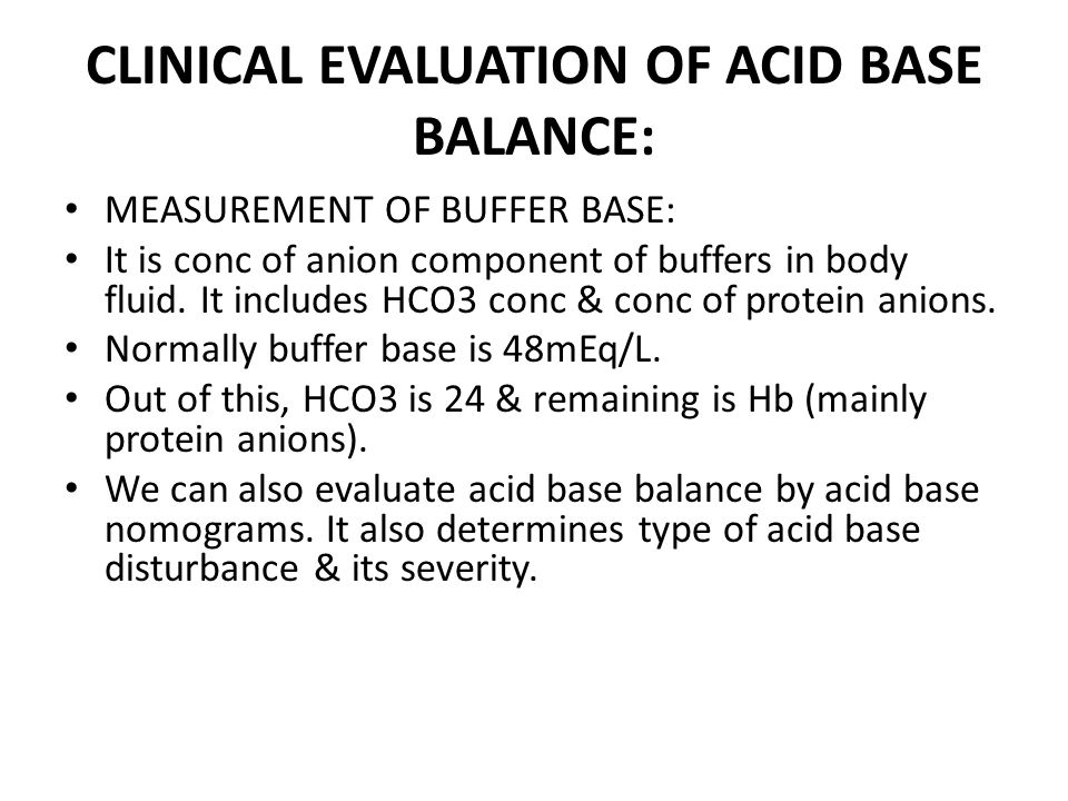 ANION GAP MEASUREMENT: It is the difference between conc of cations other than Na & conc of anions other than HCO3 & Cl.