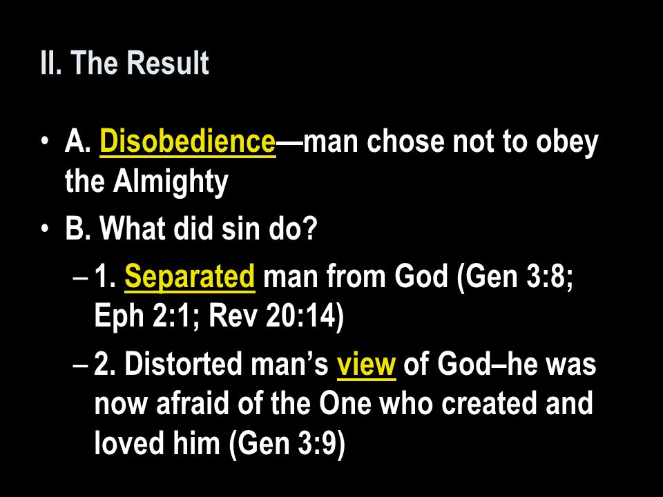 C.What is the difference between innocence and righteousness.