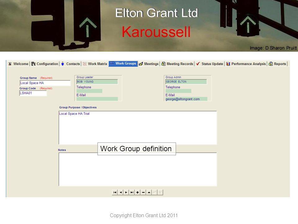 Copyright Elton Grant Ltd 2011