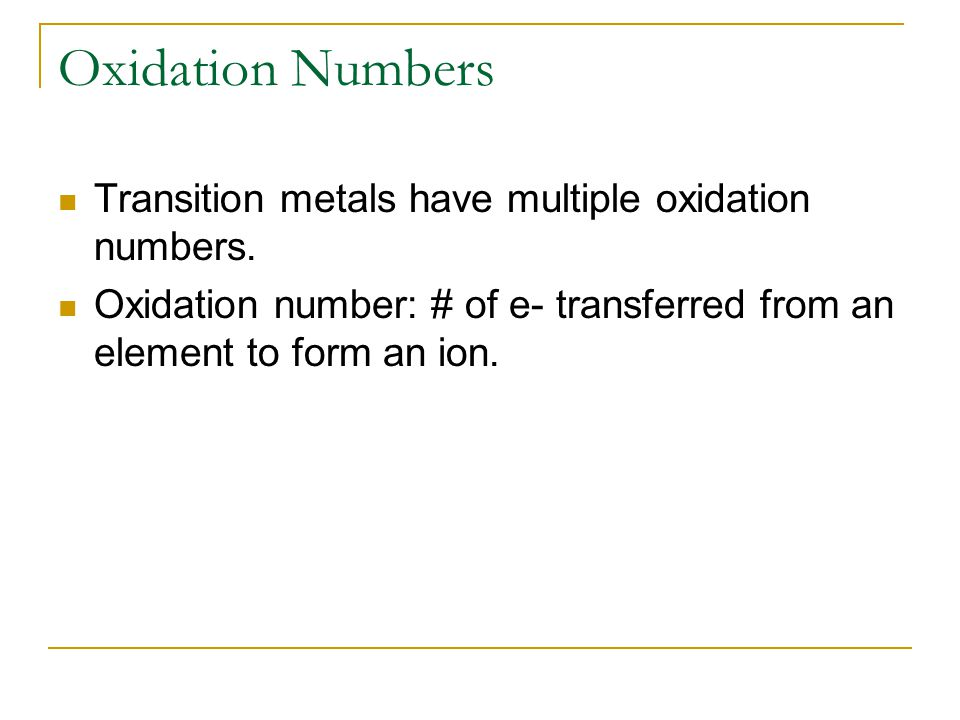 Naming Ionic Compounds 1.Cation always named first.
