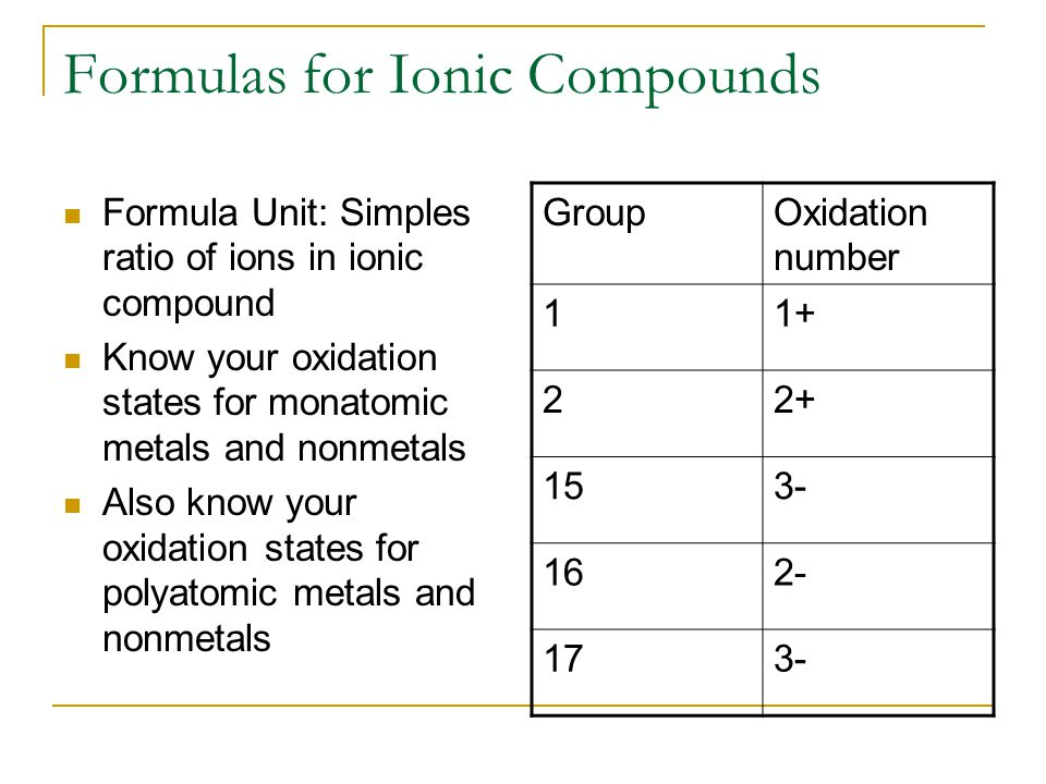 Oxidation Numbers Transition metals have multiple oxidation numbers.