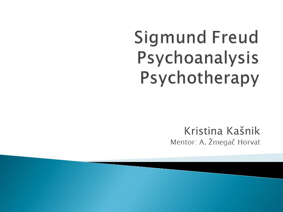 Austrian neurologist who established the psychoanalytic method in psyhciatry  Most known for his theories of the unconscious mind, the defense mechanism of repression, for creating the clinical practice of psychoanalysis, use of free association, theory of transference, interpretation of dreams  Redefinition of sexual desire