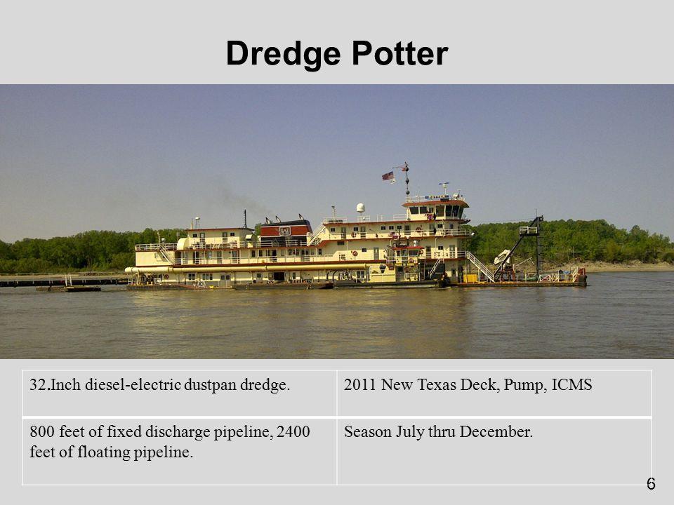 7 Dredge Potter Flexible Pipeline.
