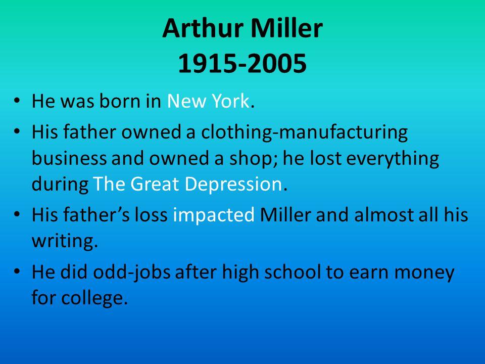 Miller...