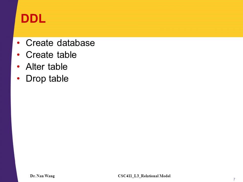 CSC411_L3_Relational ModelDr.
