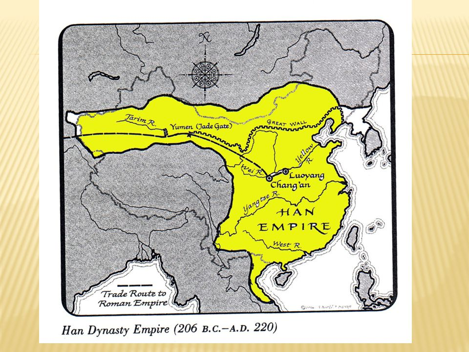 Liu Bang  A general, persistent man, a methodical planner  Restored order, established dynasty, 206 B.C.E.