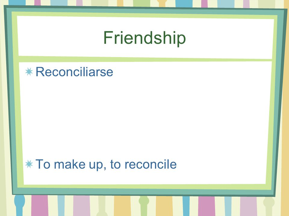 Friendship Resolver (ue) un problema To solve a problem