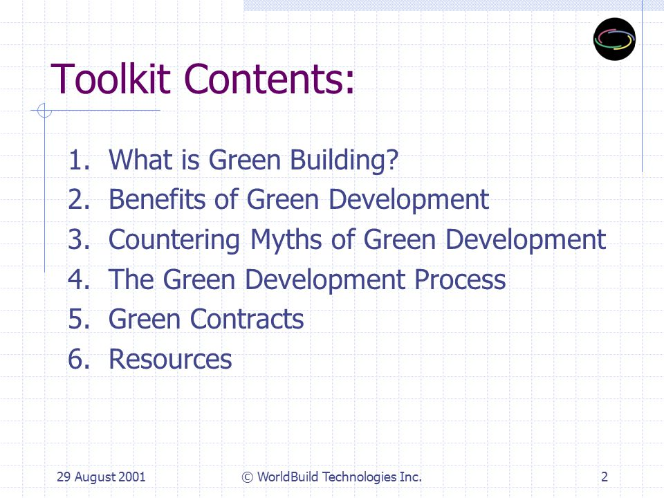 1. What is Green Building?