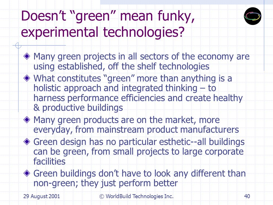4. Greening the Project Lifecycle