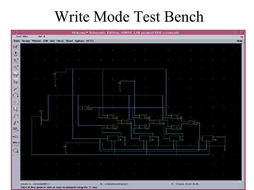 Transient Response Write Mode