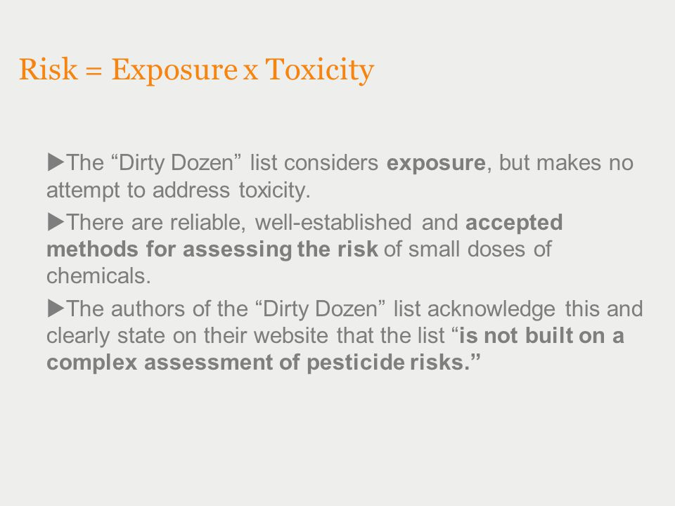 Supporting Research by Dr.Carl Winter Published in Journal of Toxicology, 2011.