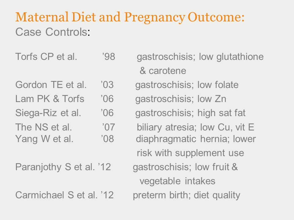 Association between organic dietary choice during pregnancy and hypospadias in offspring: A study of mothers of 306 boys operated on for hypospadias In this case-controlled study the incidence of hypospadias was reported to be higher in the offspring of women who elect not consume organic alternatives (eggs, fruit, vegetables, meat, dairy products) compared to those that did, but it is unclear if this finding was due to other lifestyle differences, or some unknown chemical contamination of high fat dairy products.