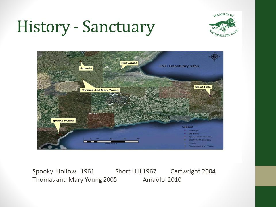 History – Land Trust 2005 HNC formed the Head-of-the-Lake Land Trust In 1998, the Club became a founding member of the Ontario Nature Trust Alliance, an organization formed by owners of Land Trusts and Private Nature Sanctuaries whose purpose is to share information and support each other in this vital work.