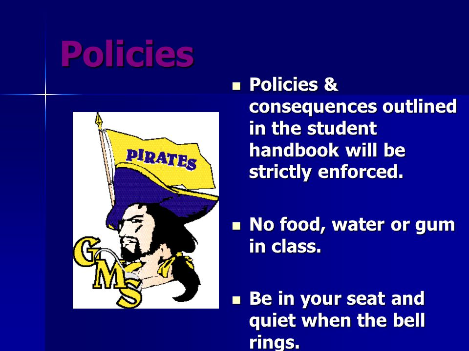 Other Classroom Policies