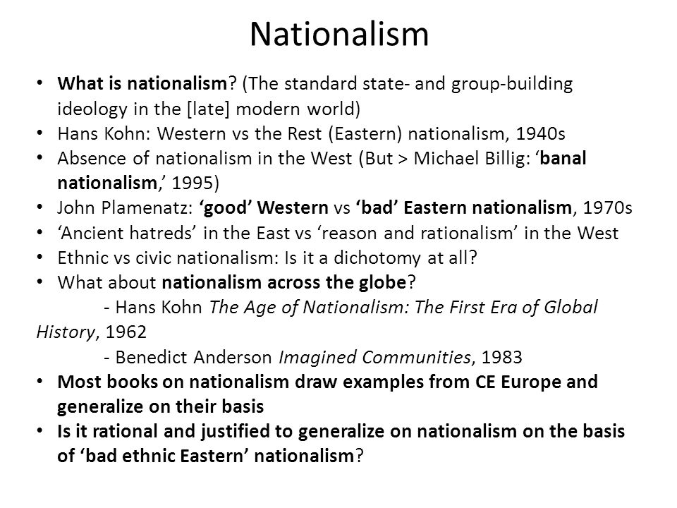 What is Ethnic Nationalism.
