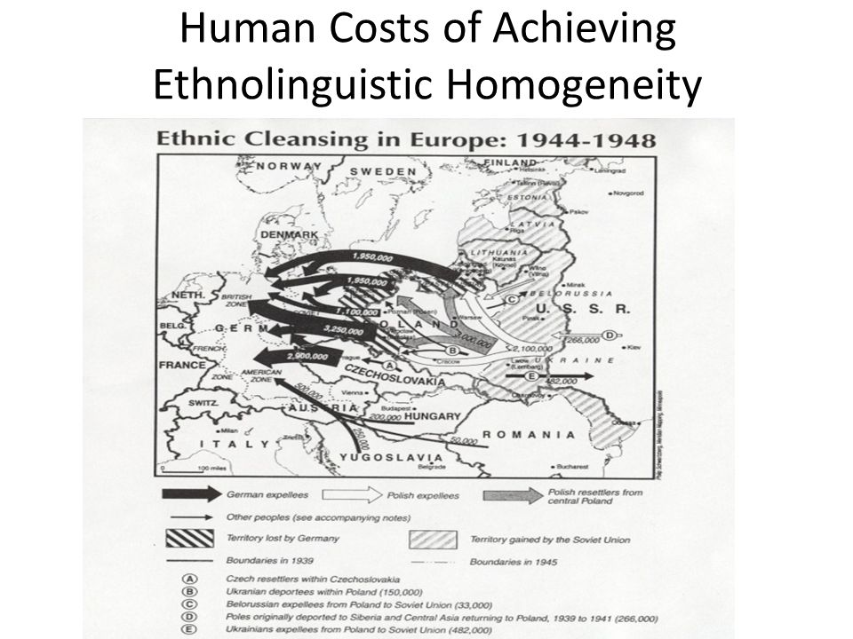 Will Ethnolinguistic Homogeneity Last in the Borderless EU.