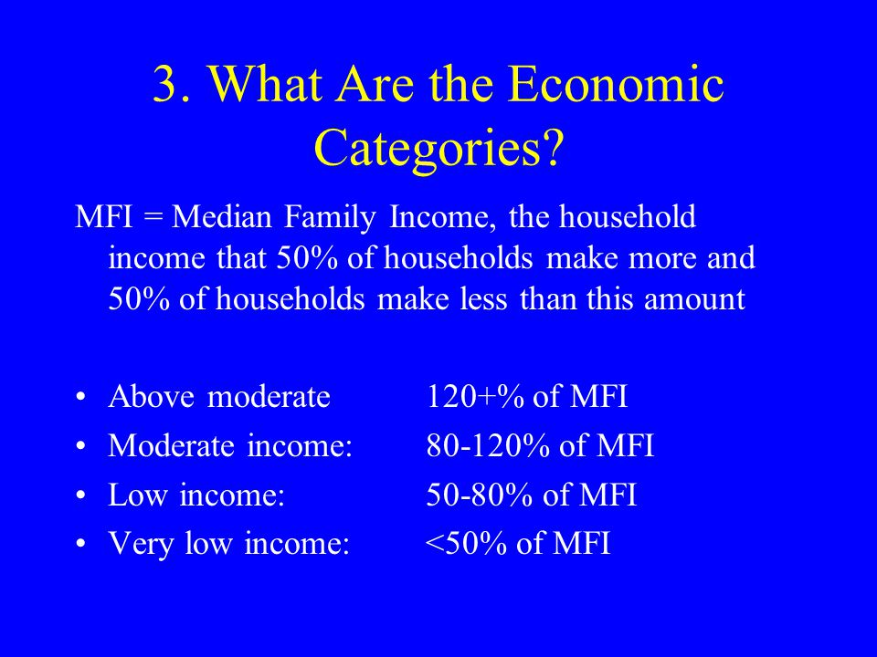 3.What Are Economic Categories.