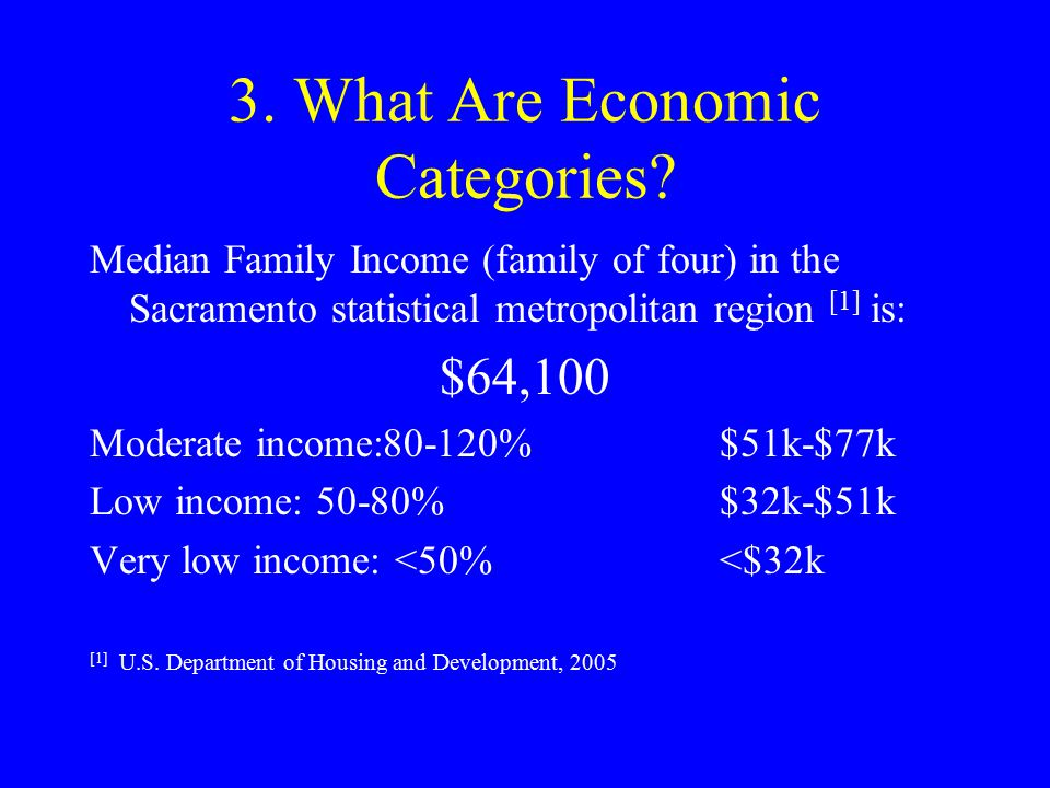 3.What Are the Economic Categories.