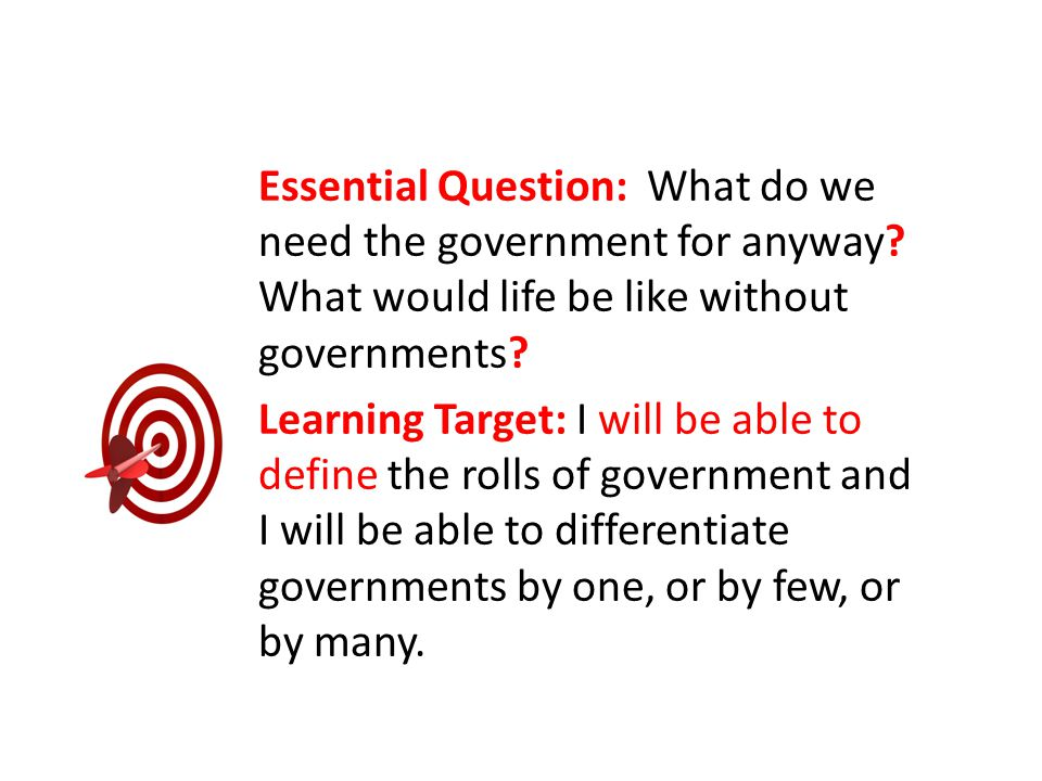 Essential Question: How is the power of the United States government separated and limited.