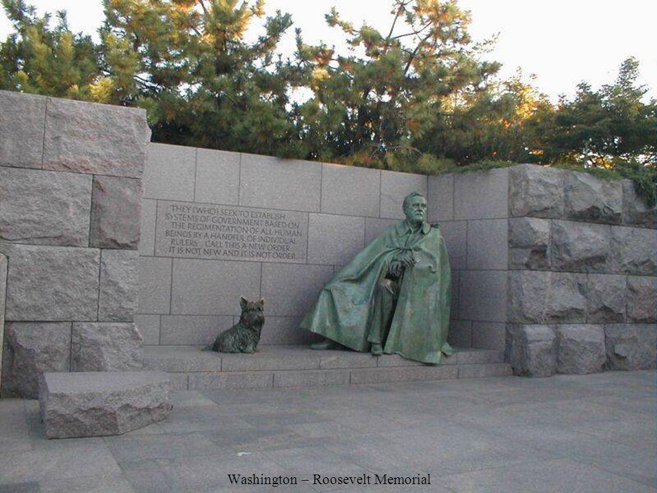 Washington – Roosevelt Memorial